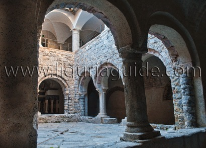 San Fruttuoso Abbey Lower Ground Cloister