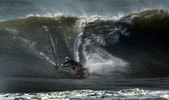 Stefano Bellotti, Italy / Levanto Beach, Italy, 11.2011 Photo by Alois Maurizi, kayaksurf