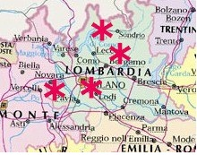 UNESCO Worls Heritage Sites Lombardia Italy