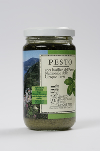 National Park of Cinque Terre Pesto Sauce with Basil