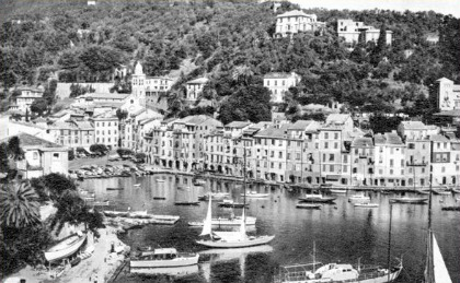 Portofino Italy in the 50s, Tigullio Gulf