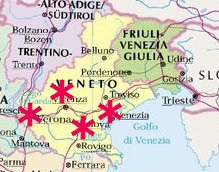 UNESCO Worls Heritage Sites Veneto Italy