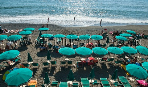 Levanto Beach, The Cinque Terre Riviera