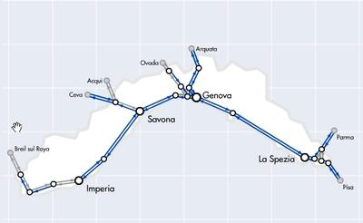 Liguria Rail Network