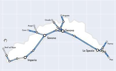 Liguria Rail Network