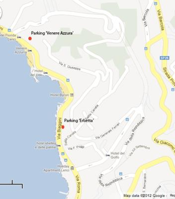 Parking in Lerici