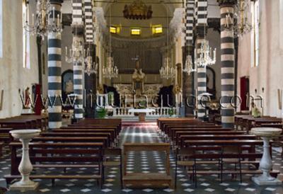 Monterosso al Mare - The Church of San Giovanni Battista