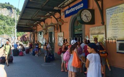 Monterosso al Mare Train Station